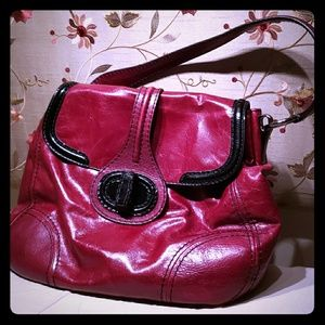 Vintage 2009 Red Prada milano leather purse